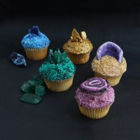 DIY: Gemstone Cupcakes