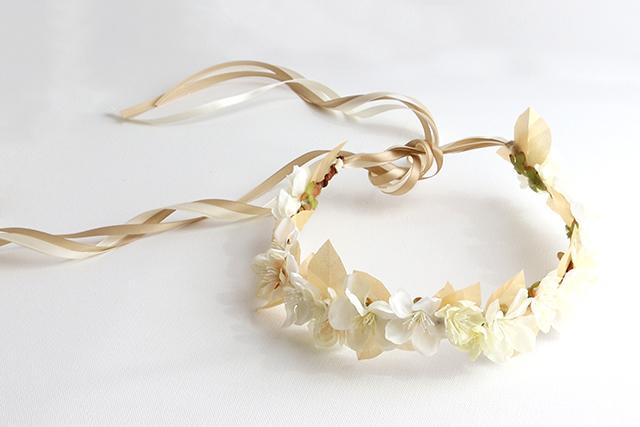 DIYSilk and Paper Flower CrownAlana Jones-Mann