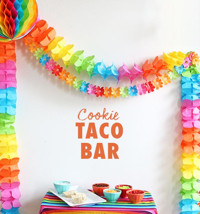 Cookie Bar Setup