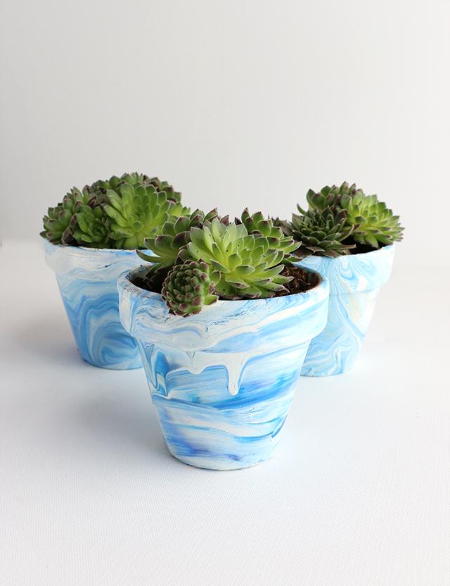 DIY Marble Pot