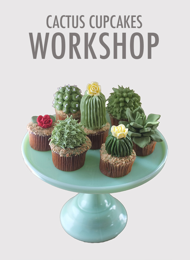 Cactus Cupcakes Workshop