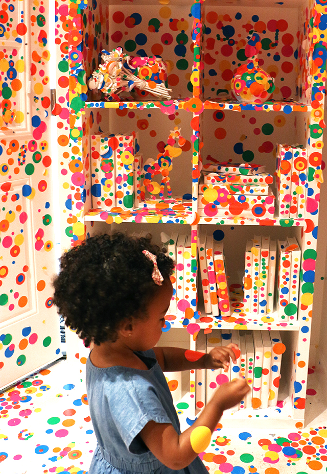 Kusama Obliteration Room