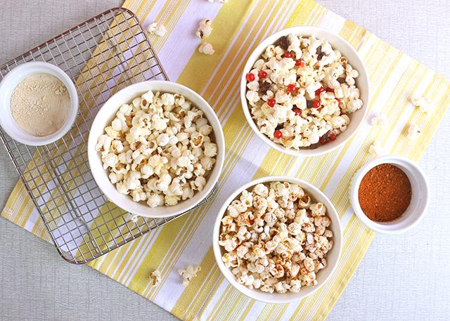 healthy popcorn recipes