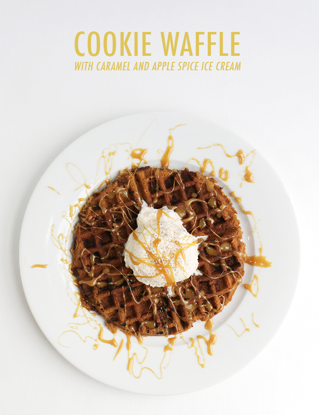 COOKIE WAFFLE RECIPE