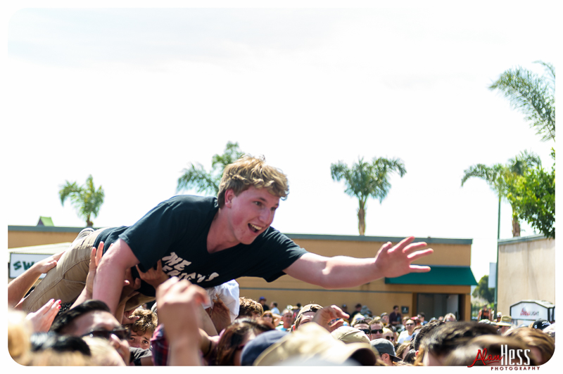 The Frights perform at the 91X-Fest on June 5, 2016 at Sleep Train Amphitheatre in Chula Vista, CA