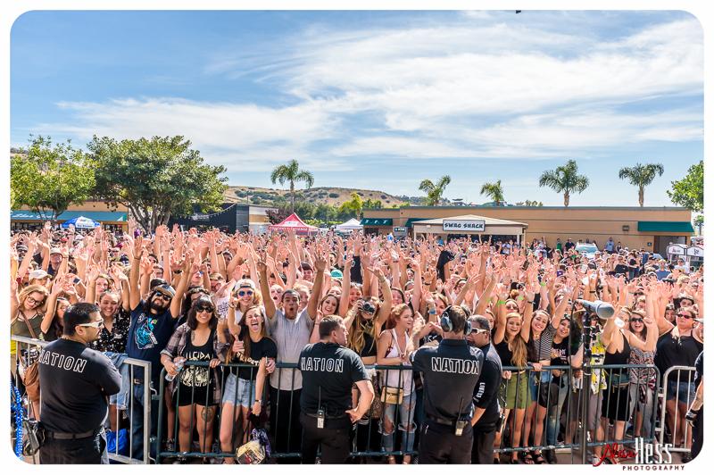 91X-Fest on June 5, 2016 at Sleep Train Amphitheatre in Chula Vista, CA