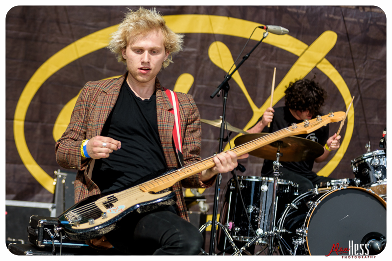 SWMRS perform at the 91X-Fest on June 5, 2016 at Sleep Train Amphitheatre in Chula Vista, CA
