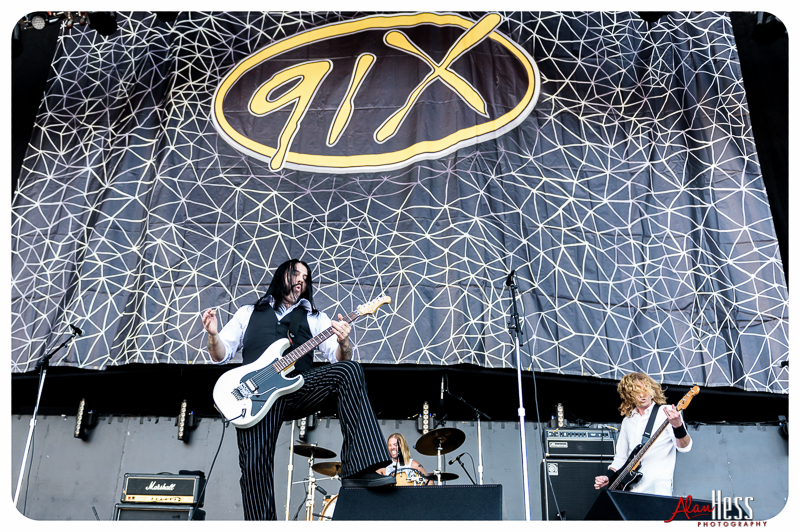 Chevy Metal perform at the 91X-Fest on June 5, 2016 at Sleep Train Amphitheatre in Chula Vista, CA