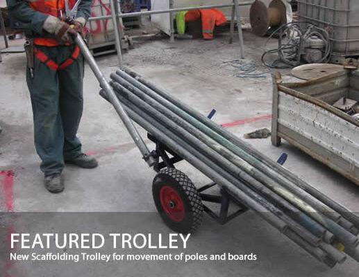 scaffold trolley