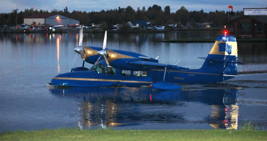 Grumman Widgeon, Alaska, Rob Stapleton