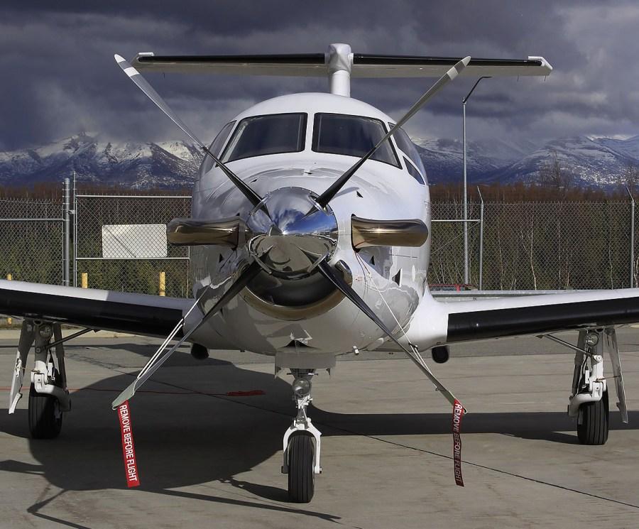 Pilatus PC12 at PANC
