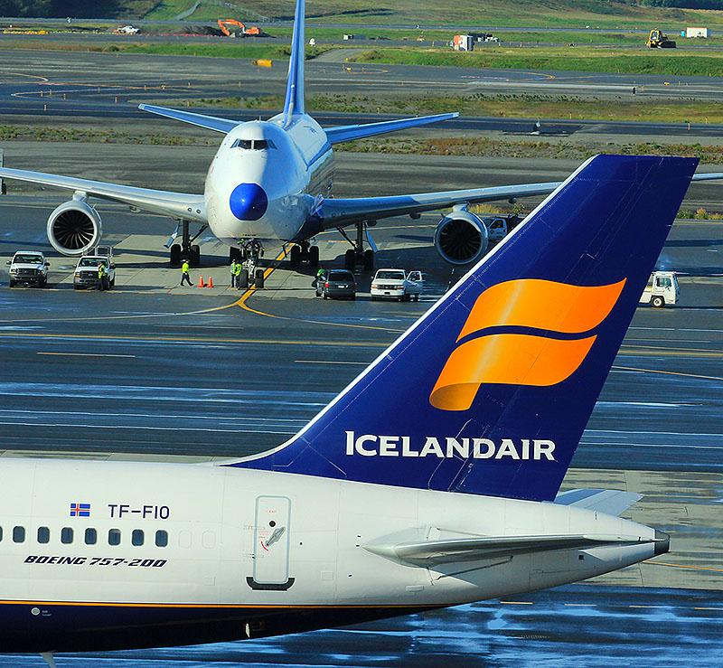 Iceland Air tail at PANC
