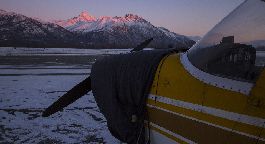Alpineglow and a Cessna.