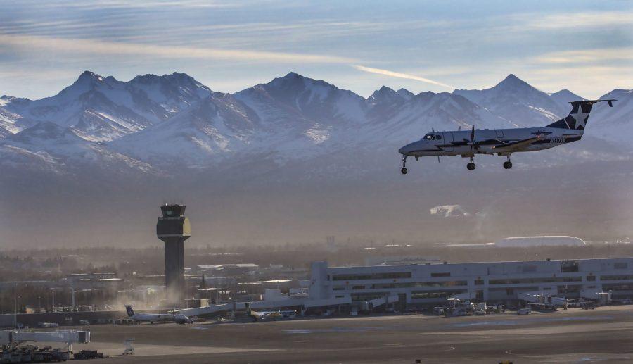 B1900 landing at PANC, photo by Rob Stapleton