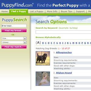 Should you use PuppyFind to find your new puppy?