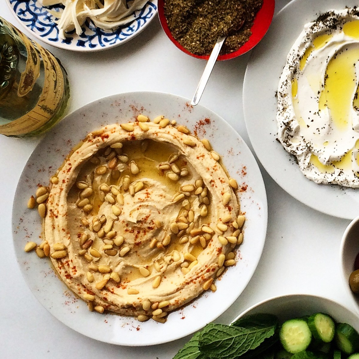 A Simple Trick for Super Smooth Hummus
