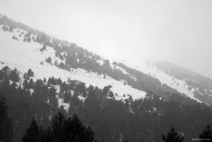 Nieve en Puigcerdà