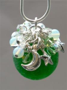 Emerald Sea Glass Commission March 2011