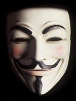 "Mask from ""V for Vendetta"""
