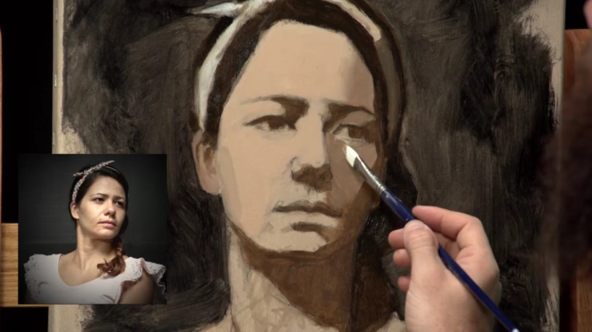 DVD review: Secrets of Portrait Painting with Cesar Santos (deel 2)