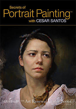 DVD review: Secrets of Portrait Painting with Cesar Santos (deel 1)