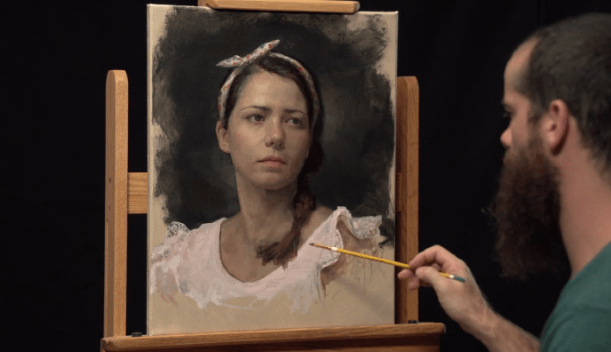 DVD review: Secrets of Portrait Painting with Cesar Santos (deel 3)