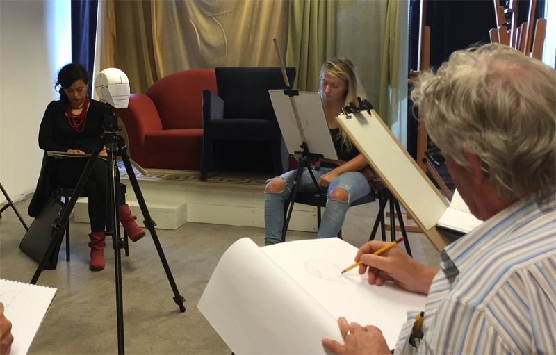 Portret tekenen met de Head of Loomis