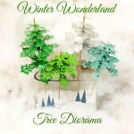Winter Wonderland Tree Diorama