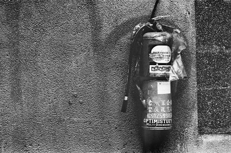 Pockmarked - Maco Eagle AQS 400 @ EI 6400 (Rollei Retro 400S)