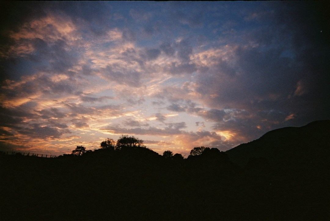 Fading light - Shot on Fuji Superia X-TRA 400 at EI400. Color negative film in 35mm format.