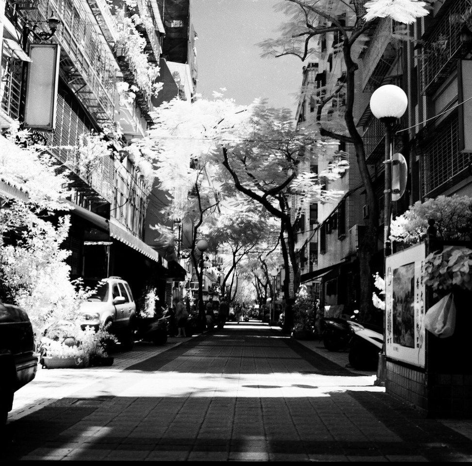 Rollei Superpan 200 - Shot at EI25 - R72 720nm IR filter