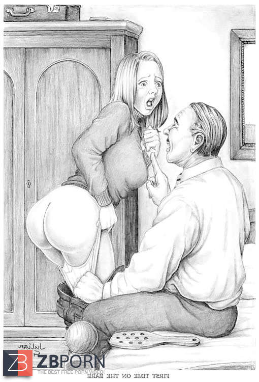 cathy spanking drawing