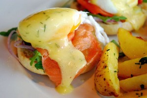 all day breakfast eggs benedict