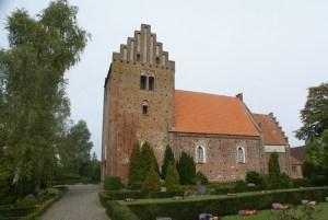 Keldby Kirke Ude