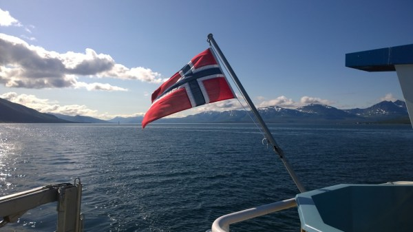 Arktisk Fjordcruise flag