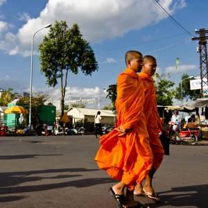 Buddhists - A photo by Alex Leonard