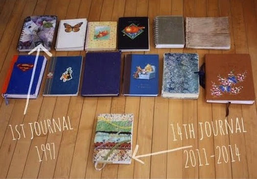 Photo showing 13 journals
