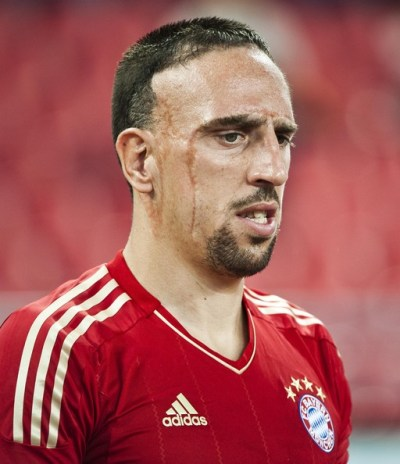 Ribery and Baines do well for themselves in The Bloomberg Sports list | Red It - Alex Carey