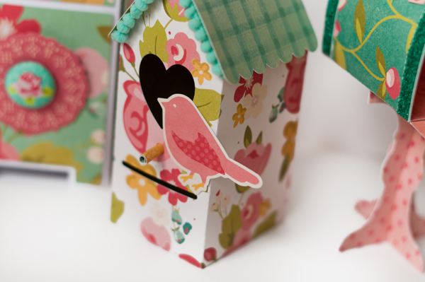 Valentines Day Mailboxes with Hello Gorgeous from My Minds Eye