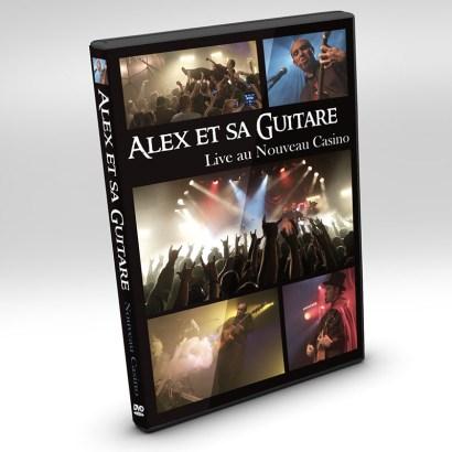 mockup dvd nouveau caz debout