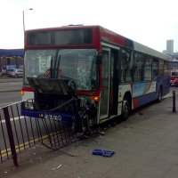 Bus Accident at the Custard Factory