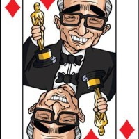 Card-i-cature a week... Week 10 - Martin Scorsese (the 5 of Diamonds)