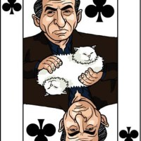 Card-i-cature a week... week 15 - Boris Berezovsky (the 3 of Clubs)