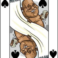 Jacob Zuma (the King Of Spades)