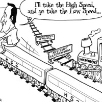 I'll Take The High Speed...