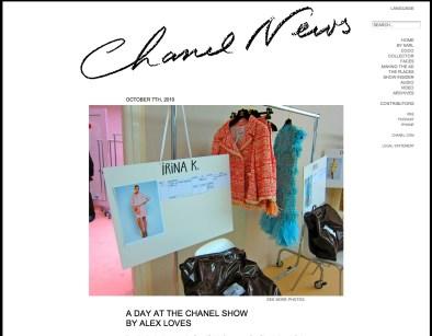 Chanel News - Oct 2010