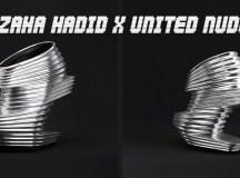 Zaha Hadid x United Nude