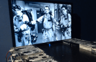 Música do filme Ghostbusters tocada por 8 drives de disquetes