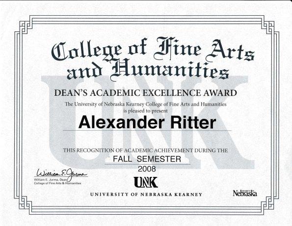 alex-ritter-deans-academic-excellence-award-fall-2008