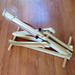 Project 22 in the Daddy Handbook a Catapult by As